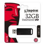 Память USB 2.0 32 GB Kingston DataTraveler DT20, черный (DT20/32GB)