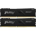 Оперативная память Kingston FURY Beast Black [KF432C16BBK2/16] 16 ГБ