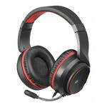 Наушники Defender Apex Pro игровые, с микрофоном, USB, черно-красный