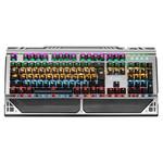 Клавиатура USB Oklick 980G HUMMER механическая черный USB LED