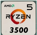Процессор Socket AM4 AMD Ryzen 5 3500 OEM