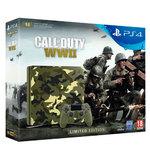 Игровая консоль Sony PlayStation 4 1TB + Call of Duty: WWII Limited Edition