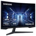 """Монитор 32"""" Samsung Odyssey G5 C32G55TQWI черный"""