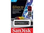 Память USB 3.1 64 GB SanDisk Extreme Go черный (SDCZ800-064G-G46)