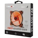 Вентилятор CROWN 120*120*25 1500об/мин 20дБ 16LED 3pin+MOLEX CMCF-12025S-1220, красный