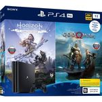 Игровая консоль Sony Playstation 4 PRO 1Tb + God of War IV + Horizon Zero Dawn. Complete Edition (русские версии)