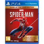 Spider-Man Game of the Year Edition/Человек-Паук Издание Игра Года (PS4)