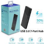 Разветвитель USB 3.0 TP-LINK UH700, 7 портов, black