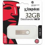 Память USB 2.0 32 GB Kingston Data Traveler SE9 (DTSE9H/32GB)
