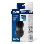 Мышь Sven RX-300 беспроводная, 1000dpi, USB, чёрный