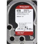 """Накопитель HDD 3.5""""  6Tb SATA-III Western Digital Red WD60EFAX 5400rpm 256MB"""